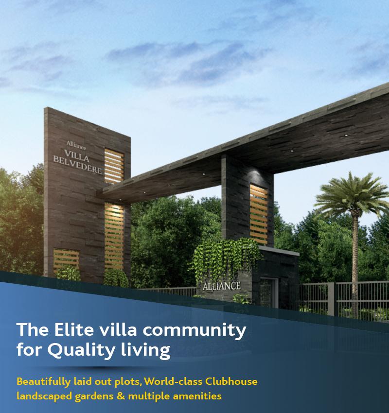 Villa plots for sale in Chennai